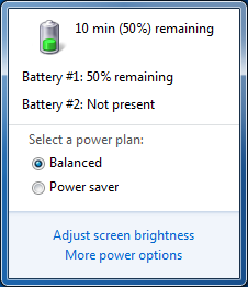 XenClient battery usage bug - shown in VM